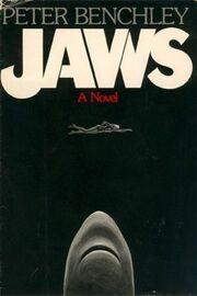Jaws novel cover