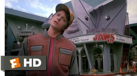 Back to the Future Part 2 (2 12) Movie CLIP - Hill Valley, 2015 (1989) HD