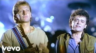 Air Supply - Making Love Out Of Nothing At All (Official Video)