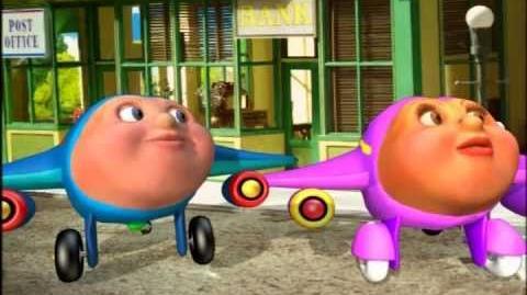 Jay Jay the Jet Plane - Episode 9 - Switch Around Day