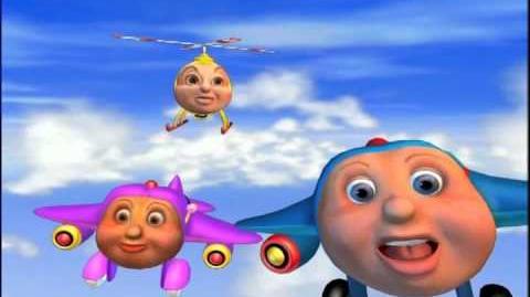 Jay Jay the Jet Plane - Episode 3 - Catch The Buzz