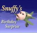 Snuffy's Birthday Surprise (Model Series)