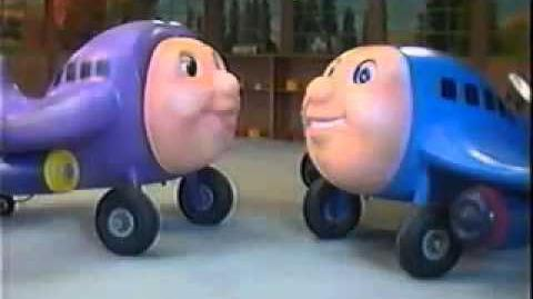 Jay Jay the Jet Plane Model Series Episode 11 Herky Uses his Head