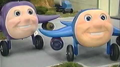 Jay Jay the Jet Plane Model Series Episode 6 Old Oscar Leads the Parade