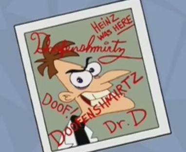 Doofenshmirtz signature