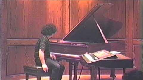 Aydin Esen 1987 Ithaca College Piano Piece