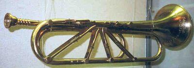 Keyed-trumpet