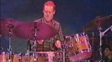 Bill Stewart drum solo