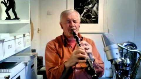 'I'm in the market for you' on Clarinet