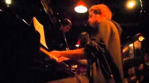 Aaron Parks solo with Maria Neckam Quartet in Jimmy Glass (Spain)