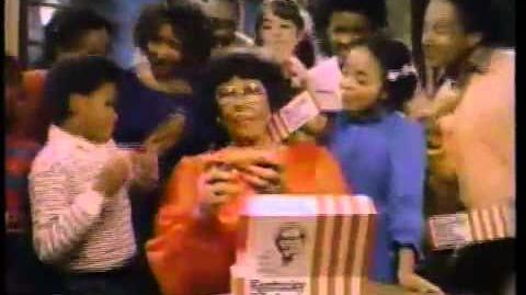 1982 Kentucky Fried Chicken with Ella Fitzgerald & Shanice