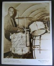 Cozy Cole, A great jazz music drummer