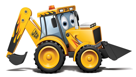 image joey jcb as a gt dragster digger png my 1st jcb bulldozer clip art black & white bulldozer clipart png