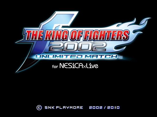 The King Of Fighters 2002 Unlimited Match For Nesicaxlive Jconfig Universe Wiki Fandom