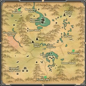Map DoomBog