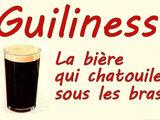 La bière Guiliness