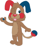 Justin Puppy as a Popple
