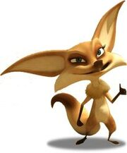 Popy the Fennec Fox