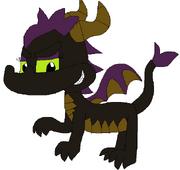 Blackfrost the Dragoness (no BG)