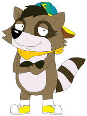 Champ Raccoon