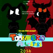 ToonWorld All-Stars the movie Teaser poster