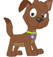 Luna the Dragon as a PAW Patrol Pup