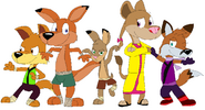 The Ferocious Five