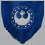 CTF icon flag blue