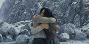 Rey und Finn umarmung