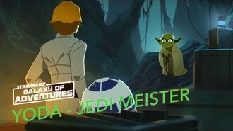 STAR WARS – GALAXY OF ADVENTURES Yoda – Der Jedi Meister Star Wars Kids