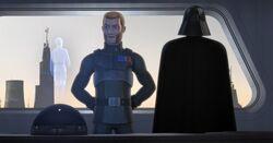 Konstantine kontaktiert Lord Vader & Agent Kallus