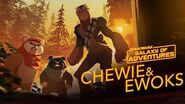 Chewie and Ewoks - Hijacking a Walker Star Wars Galaxy of Adventures