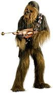 Chewbacca mit Bogenspanner