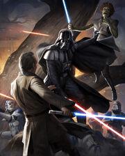 Vader against Jedi