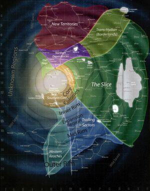 Galaktische Bereiche