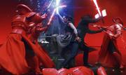 Kylo und Rey kämpfen zusammen