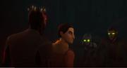 Maul, Ezra und besessene Sabine mit Kanan