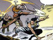 Gav Daragon kämpft