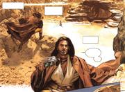 Obi-Wan beobachtet Lukes erste Flugversuche