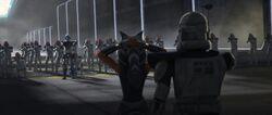 Ahsoka & Rex vs Jesse & Klone