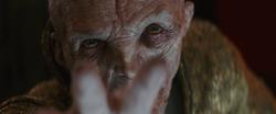 Snoke nutzt die Macht