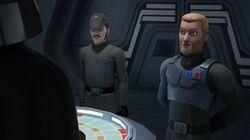 Lord Vader, Agent Kallus und Admiral Konstantine