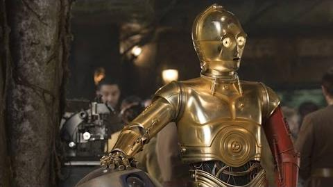C-3PO actor on changes to suit for 'Star Wars The Force Awakens'