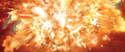 SW 50 Willards Kreuzer Explosion