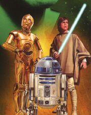 C-3PO R2-D2 Luke Der Attentäter