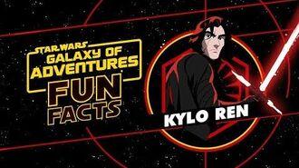 Kylo Ren Star Wars Galaxy of Adventures Fun Facts