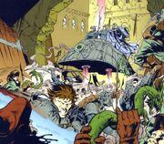 Kampf auf Coruscant