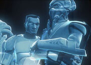 Wolffe Hologramm