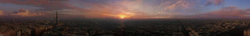 Coruscant Panorama