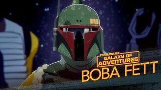 Boba Fett - The Bounty Hunter Star Wars Galaxy of Adventures